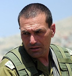 Commander of the 36th Armored Division, Brig. Gen. Eyal Zamir, June 2011 (cropped).jpg