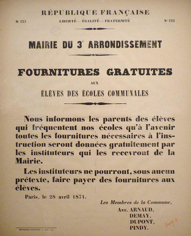 file commune de paris affiche du 28 avril 1871 sur les. Black Bedroom Furniture Sets. Home Design Ideas
