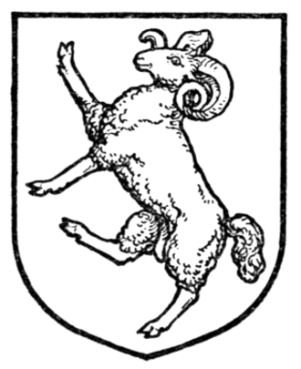 Bagge family - Image: Complete Guide to Heraldry Fig 396