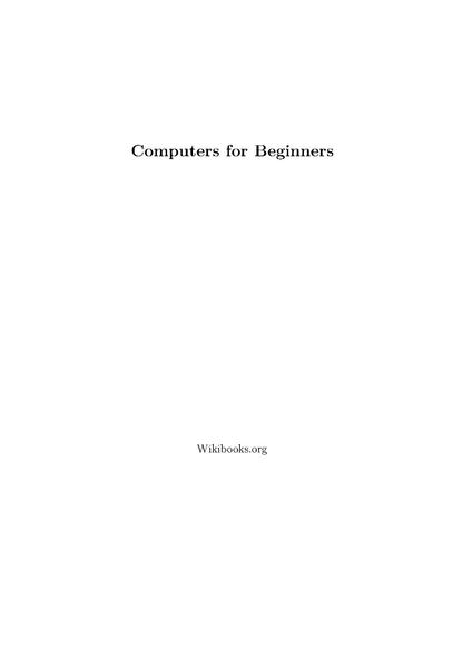 File:Computers for Beginners.pdf