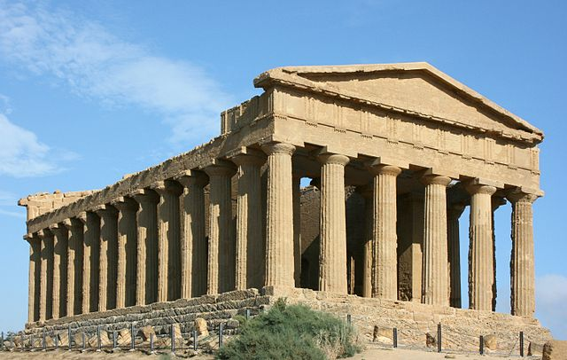 The Temple of Concordia in Agrigento  (Sicily, Italy)
