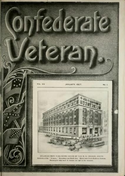 File:Confederate Veteran volume 15.djvu