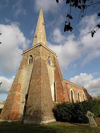 Conington, South Cambridgeshire - Image: Conington Church geograph.org.uk 2270