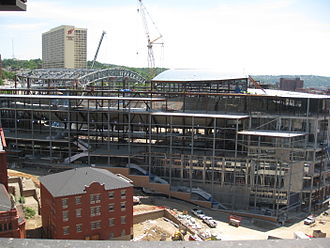 PPG Paints Arena - The arena in July 2009