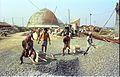 Convention Centre Complex Under Construction - Science City - Calcutta 1996-01-03 203.JPG