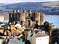 Conwy Castle from Town Walls - geograph.org.uk - 1723354.jpg