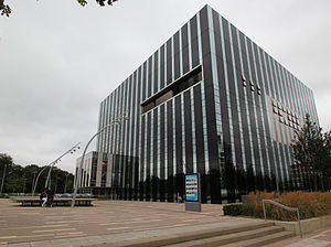 Corby Cube - Corby Cube building 2012