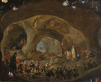 Cornelis Saftleven - Temptation of St Anthony