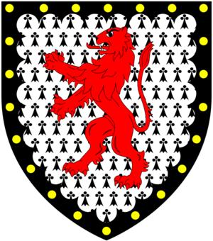 Manor of King's Nympton - Image: Cornwall Of Bishops Nympton Arms