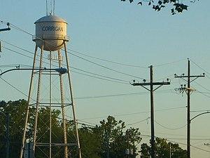 Corrigan, Texas - Watertower in Corrigan