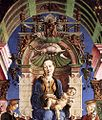 Cosmè Tura - Madonna with the Child Enthroned (detail) - WGA23116.jpg