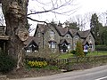 Cottages opposite the entrance to The Hendre - geograph.org.uk - 372065.jpg