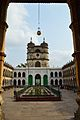 Courtyard and Clock Tower - Imambara - Chinsurah - Hooghly - 2013-05-19 7840.JPG