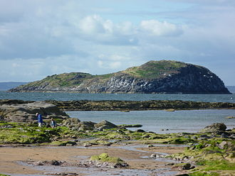 Craigleith - Craigleith from the East Bay, North Berwick