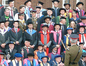 Cranfield University - Image: Cranfield Graduation Shrivenham 2003
