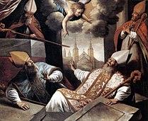 Crayer,Gaspar de-16xx-De opstanding van de HH. Monulphus en Gondulphus uit hun graven BM.jpg