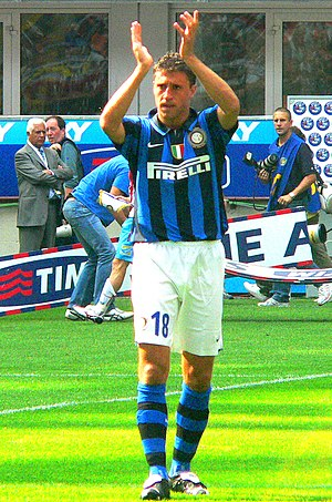 Hernán Crespo - Crespo with Inter in 2007.