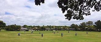 Beckenham, New Zealand - Weekend cricket in Beckenham Park