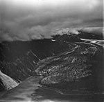 Crillon Glacier, valley glacier terminus and outwash plain, August 23, 1976 (GLACIERS 5348).jpg