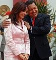 Cristina F. de Kirchner y Hugo Chávez.jpg