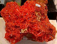 Dat Chrom-Mineral Krokoit