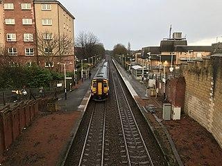Crossmyloof railway station