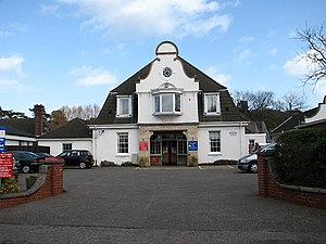 Cromer Hospital - The old main entrance to the Hospital