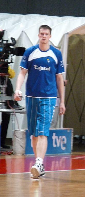 Ondřej Balvín - Balvín with Baloncesto Sevilla in 2013
