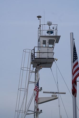 Crow's nest - Crow's nest on a tugboat.