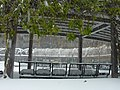 Crystal City Snow - Snowy Park Chairs (4198307999).jpg