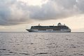 Crystal Serenity Cruise Ship leaving Funchal - Nov 2010.jpg