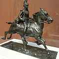Cuirassier with Drawn Sword, modeled c. 1875, by Jean-Louis-Ernest Meissonier, bronze - Art Institute of Chicago - DSC09573.JPG