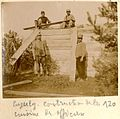 Cuperly. Construction de la cuisine des officiers - Fonds Berthelé - 49Fi1870-120.jpg