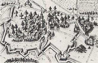 Liebenau monastery - Image: Cyriakusstift und Kloster Liebenau, Worms JS