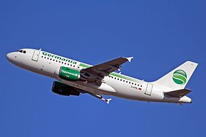 Germania (airline) - Germania Airbus A319-100