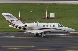 Cessna Citation CJ1 der Star Wings Dortmund