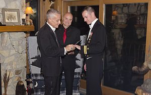 English: Wedding Ceremony of LT Gary Ross and ...