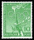 DBPB 1952 89 Vorolympische Festtage