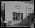 DETAIL VIEW, INDUSTRIAL DOOR, CENTER OF WEST SIDE - Maintenance Building, Second Street, Keyport, Kitsap County, WA HABS WA-266-9.tif