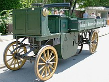 Daimler lastwagen von 1896