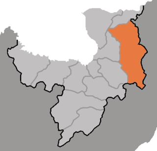 Paegam County County in Ryanggang, North Korea