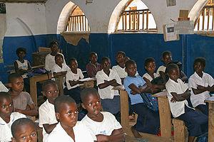Education in the Democratic Republic of the Congo - Primary school students in the Democratic Republic of the Congo