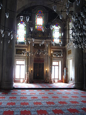 Laleli Mosque - Image: DSC04494 Istanbul Laleli camii Foto G. Dall'Orto 29 5 2006