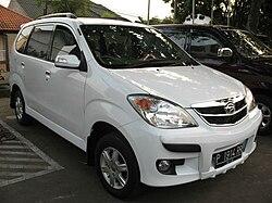 2008 Daihatsu Xenia Li in Indonesia.