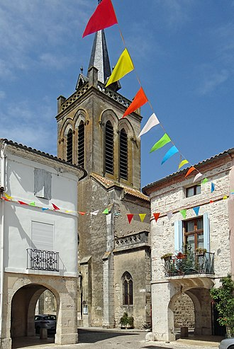 Damazan - The church in Damazan