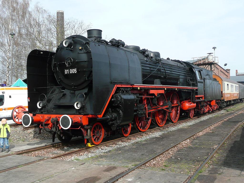 Dampflok 01 005 Staßfurt