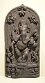 Dancing Ganesha - Black Stone - Circa 12th Century CE - Gangarampur - West Bengal - ACCN 5625-A25203 - Indian Museum - Kolkata 2015-09-26 3901.JPG