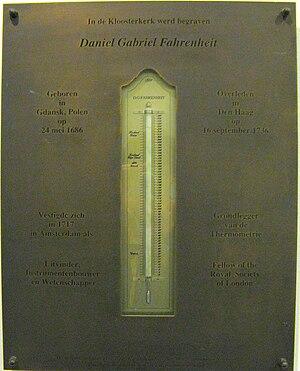English: Daniel Gabriel Fahrenheit, place of b...