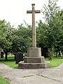 Darton Memorial Cross - geograph.org.uk - 477617.jpg