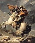 David, Jacques-Louis - Bonaparte franchissant le Grand-Saint-Bernard - Château de Versailles MV 8550.jpg